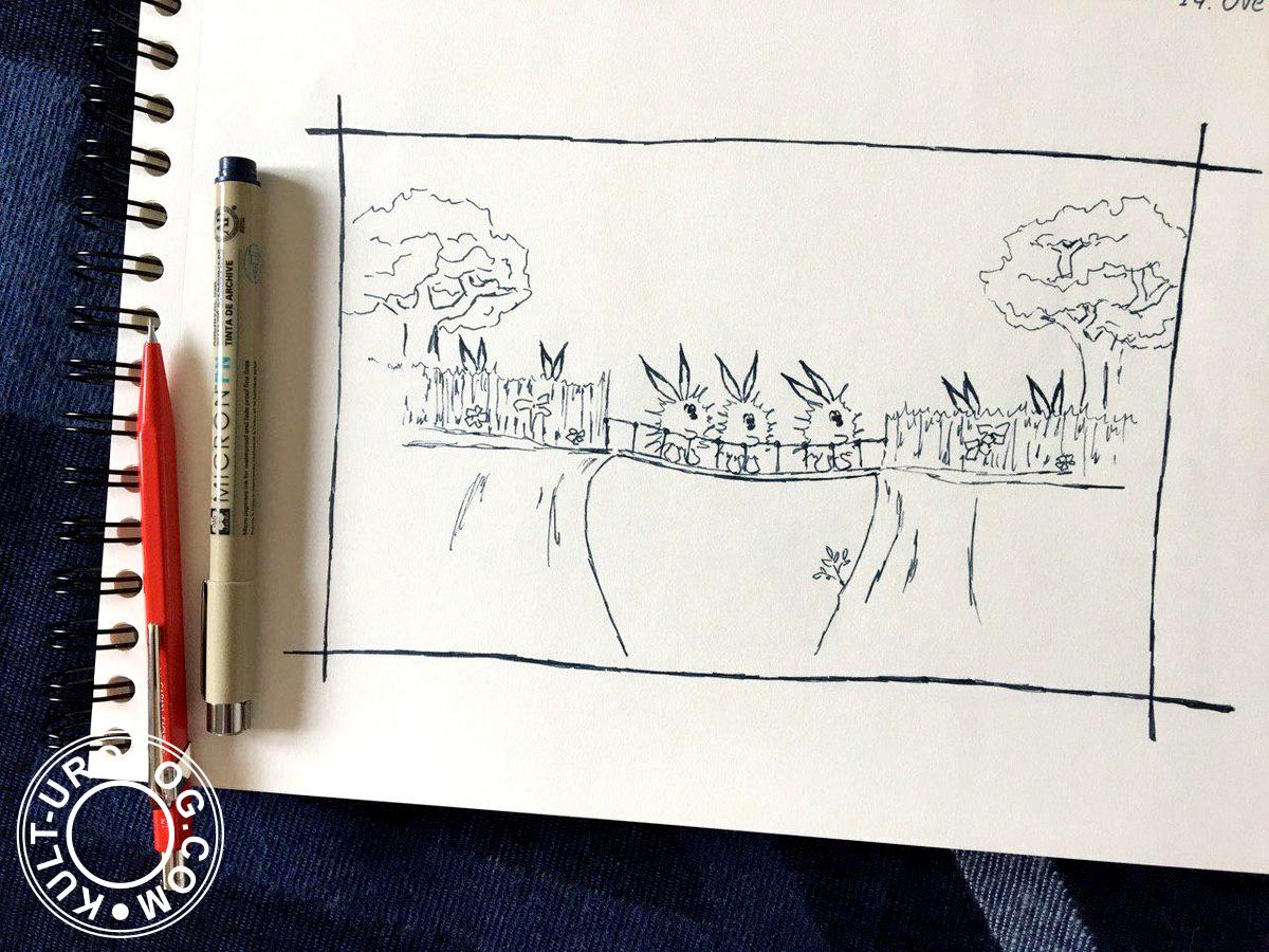 Inktober: Overgrown (14 октября)